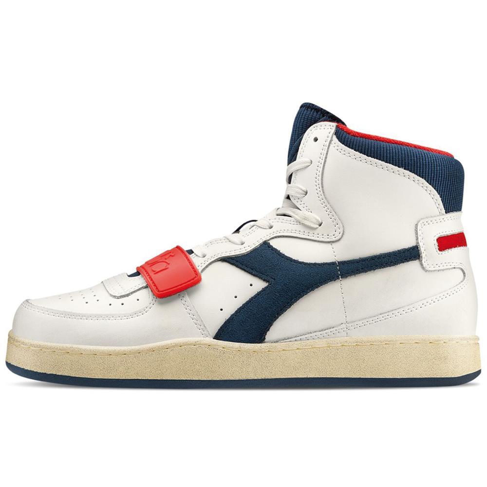 Indexbild 3 - Diadora MI Basket Used Herren Hi Top Sneaker Sportschuhe Turnschuhe