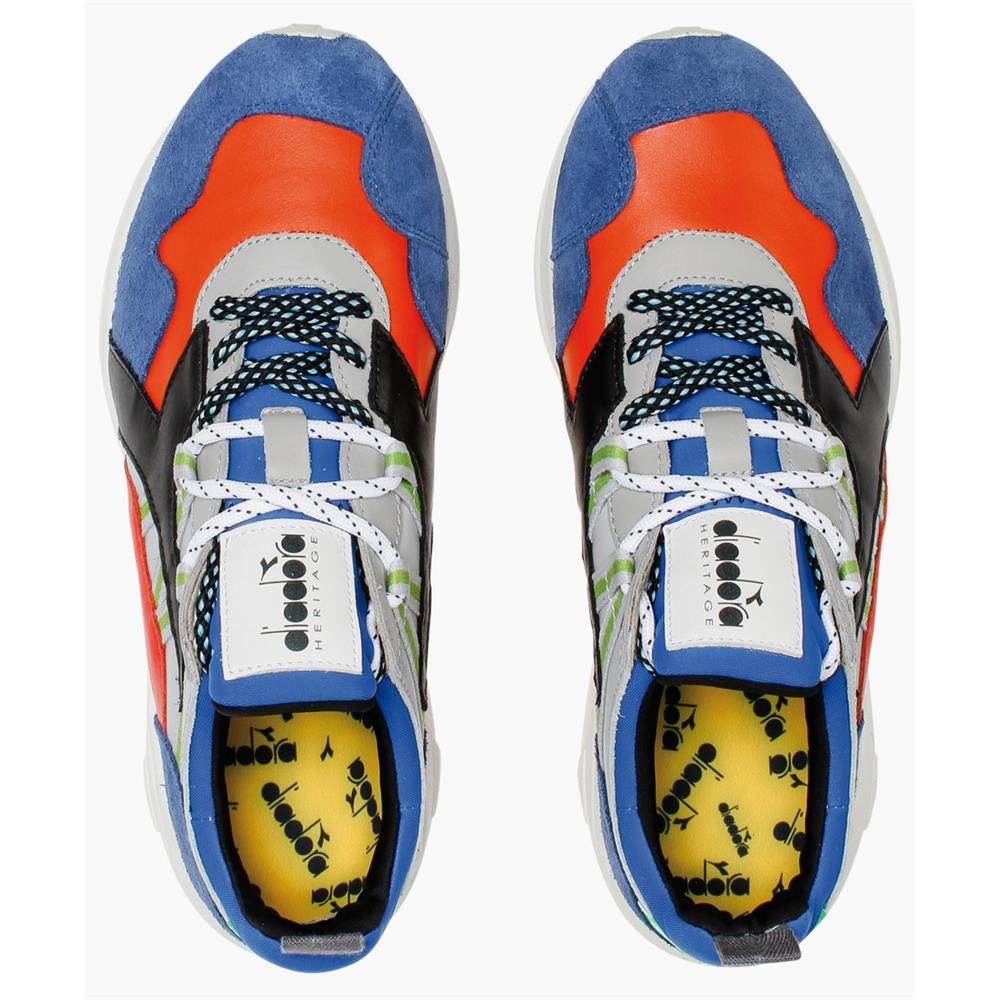 Indexbild 12 - Diadora Heritage Rave Leather Pop Herren Sneaker Damen Sportschuhe Turnschuhe