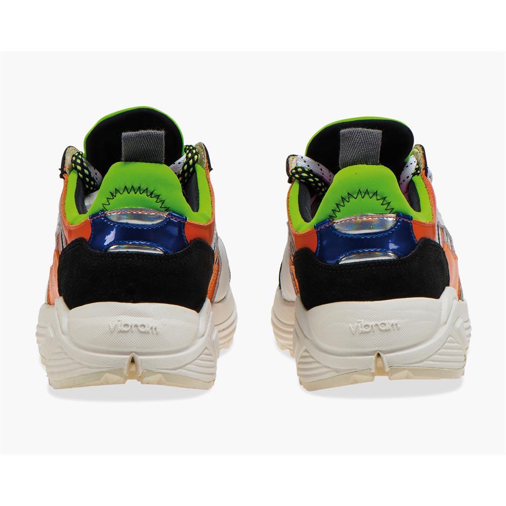 Indexbild 4 - Diadora Heritage Rave Leather Pop Herren Sneaker Damen Sportschuhe Turnschuhe