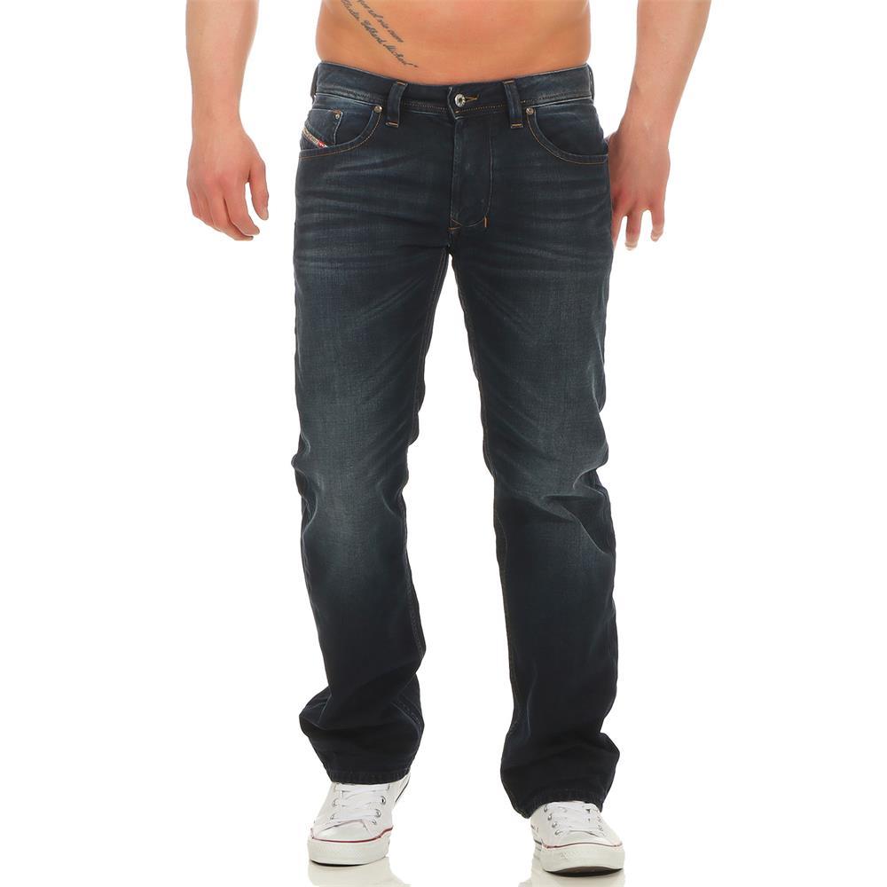 DIESEL-Larkee-0837K-Jeans-Regular-Straight-Herrenjeans-Denim-Hose