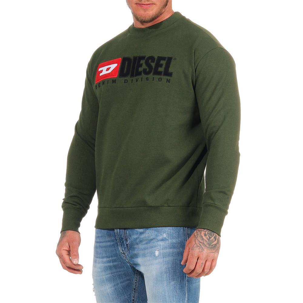 DIESEL-Sweatshirt-Herren-Rundhals-Pullover-Crew-Neck-Sweater-Pulli Indexbild 6