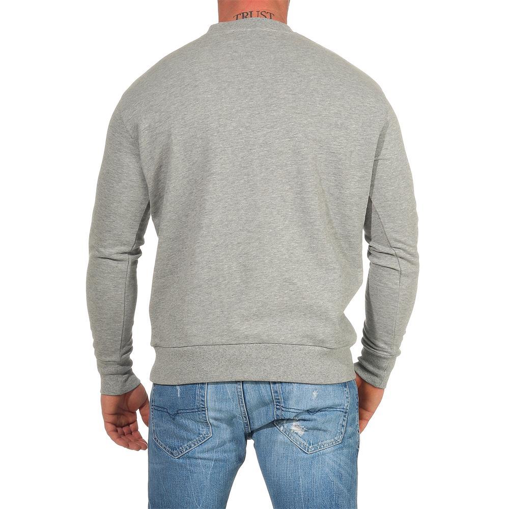 DIESEL-Sweatshirt-Herren-Rundhals-Pullover-Crew-Neck-Sweater-Pulli Indexbild 4