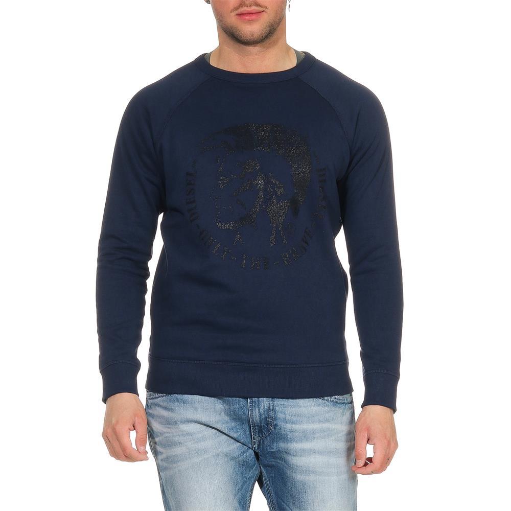 DIESEL-S-Orestes-New-Sweatshirt-Herren-Pullover-Sweater-Pulli Indexbild 13