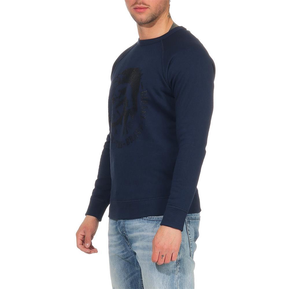 DIESEL-S-Orestes-New-Sweatshirt-Herren-Pullover-Sweater-Pulli Indexbild 14