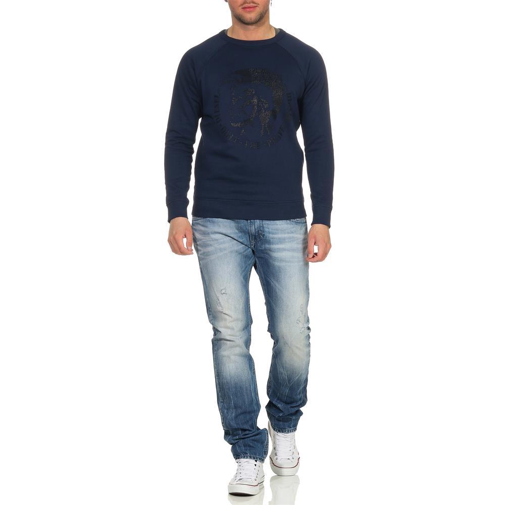 DIESEL-S-Orestes-New-Sweatshirt-Herren-Pullover-Sweater-Pulli Indexbild 16