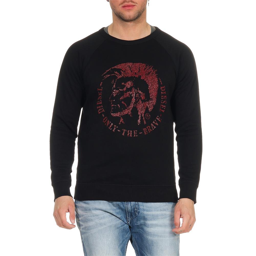 DIESEL-S-Orestes-New-Sweatshirt-Herren-Pullover-Sweater-Pulli Indexbild 8