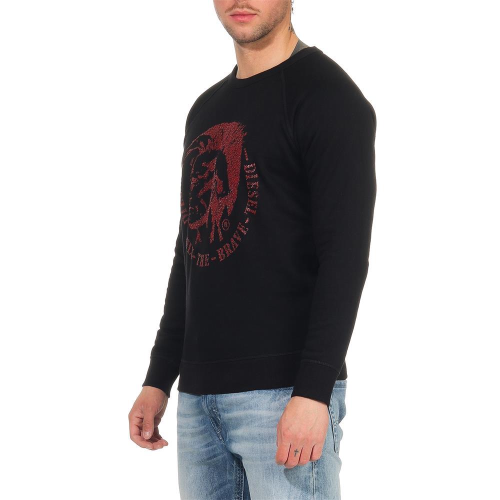 DIESEL-S-Orestes-New-Sweatshirt-Herren-Pullover-Sweater-Pulli Indexbild 9