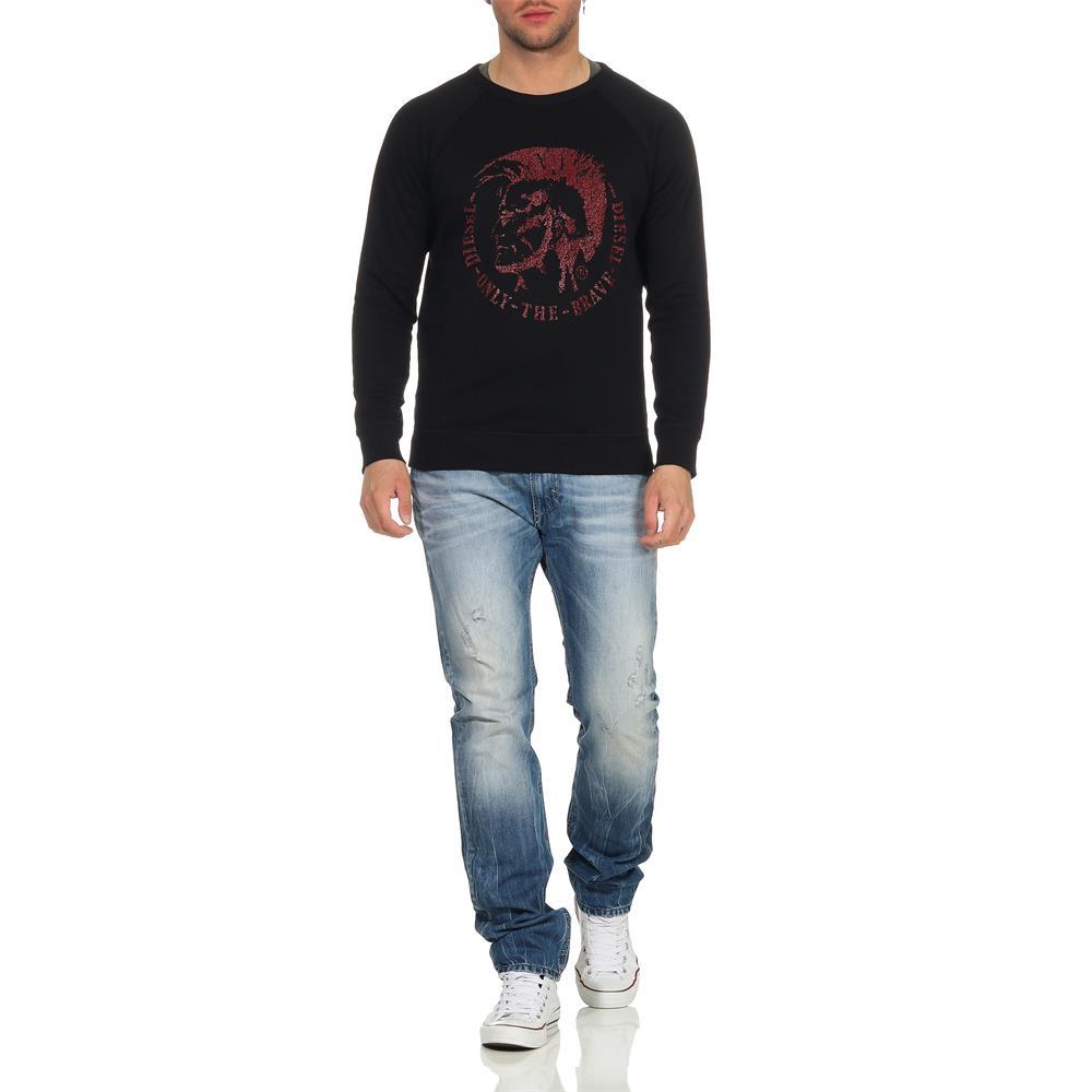 DIESEL-S-Orestes-New-Sweatshirt-Herren-Pullover-Sweater-Pulli Indexbild 11