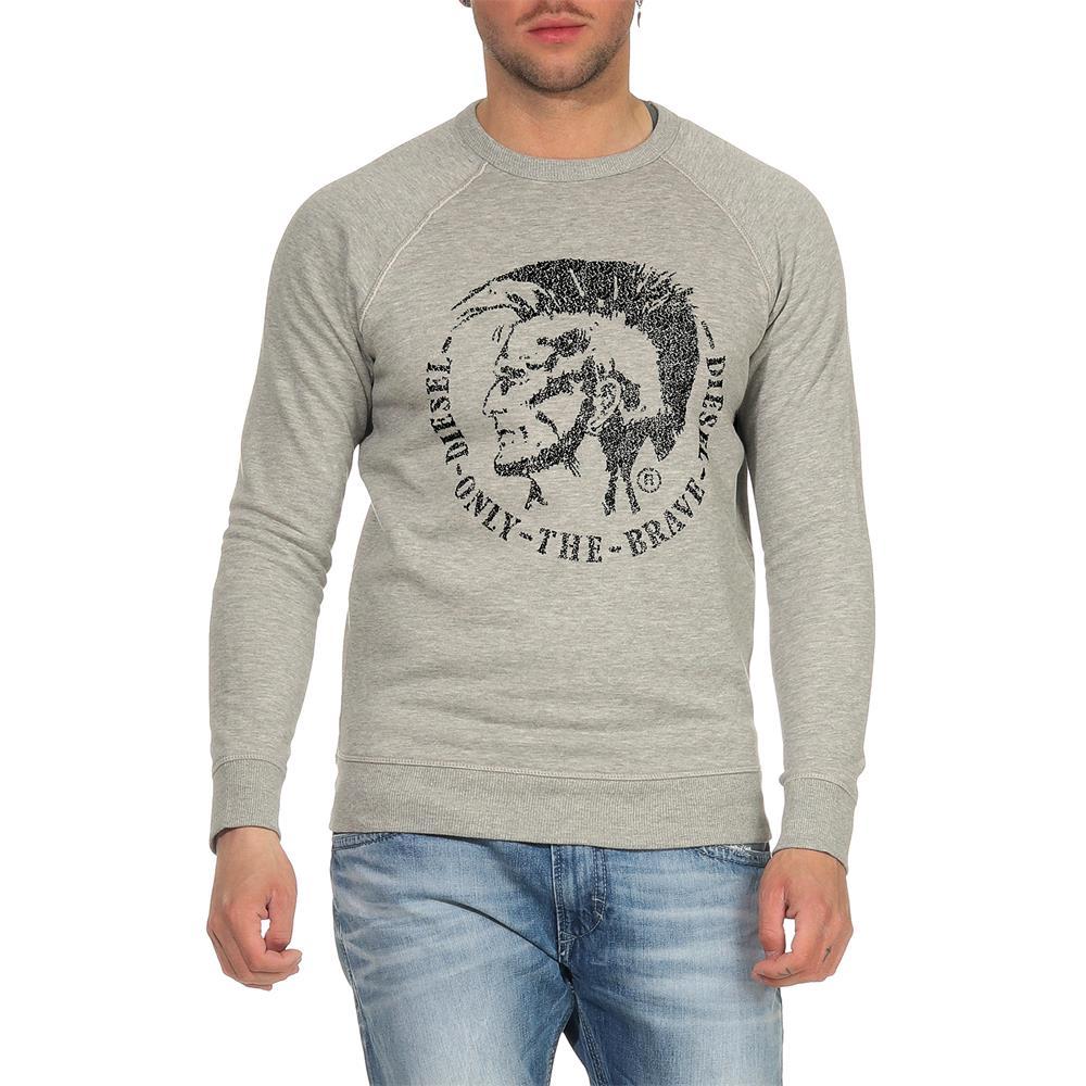 DIESEL-S-Orestes-New-Sweatshirt-Herren-Pullover-Sweater-Pulli Indexbild 3