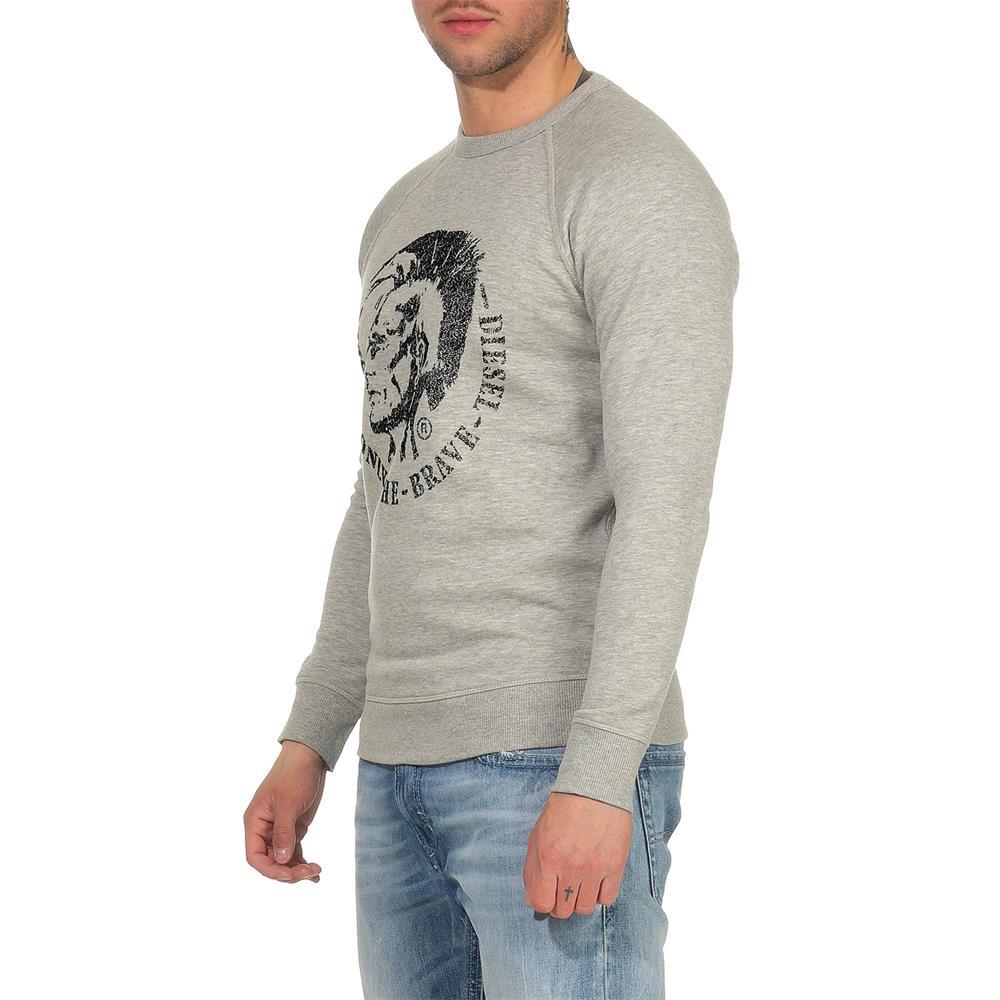 DIESEL-S-Orestes-New-Sweatshirt-Herren-Pullover-Sweater-Pulli Indexbild 4
