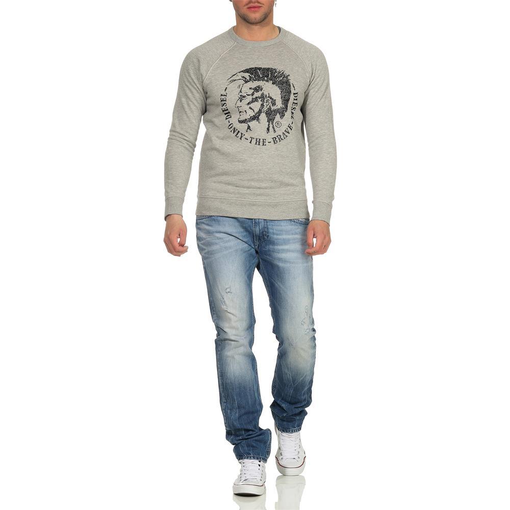 DIESEL-S-Orestes-New-Sweatshirt-Herren-Pullover-Sweater-Pulli Indexbild 6