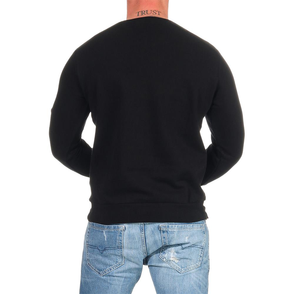 DIESEL-Sweatshirt-Herren-Rundhals-Pullover-Crew-Neck-Sweater-Pulli Indexbild 10