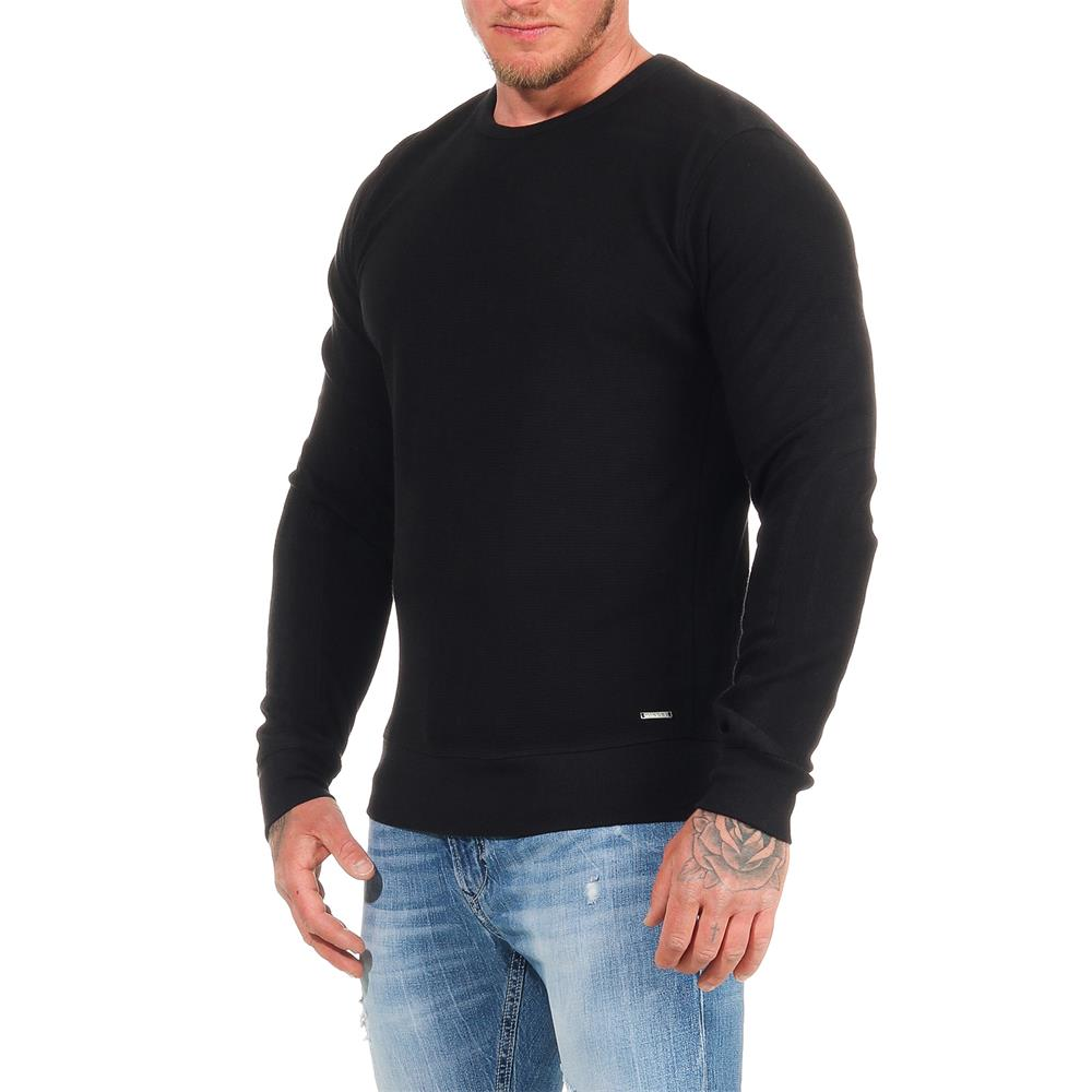 DIESEL-Sweatshirt-Herren-Rundhals-Pullover-Crew-Neck-Sweater-Pulli Indexbild 21