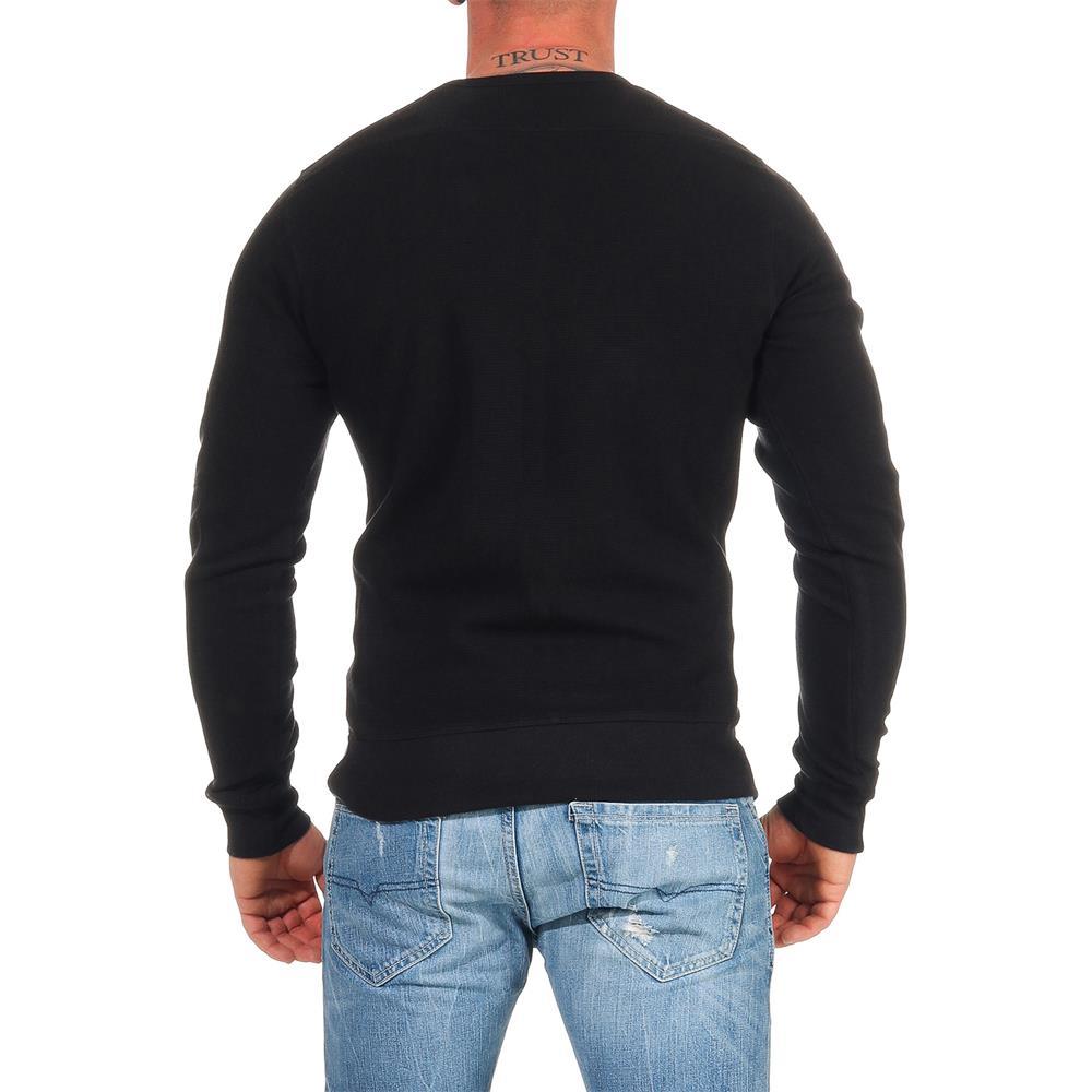 DIESEL-Sweatshirt-Herren-Rundhals-Pullover-Crew-Neck-Sweater-Pulli Indexbild 22