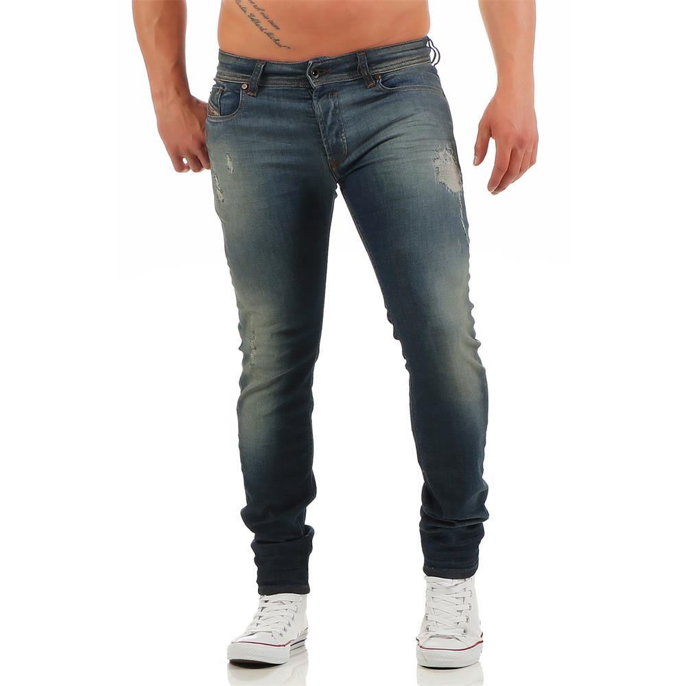 21ae7bf2562ae2 DIESEL Sleenker 0670N men's jeans slim skinny jeans denim pants | eBay