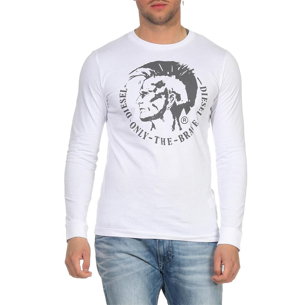 DIESEL-T-Diego-Long-B-R-Herren-Longsleeve-Mohawk-Tee-Langarm-Shirt Indexbild 3