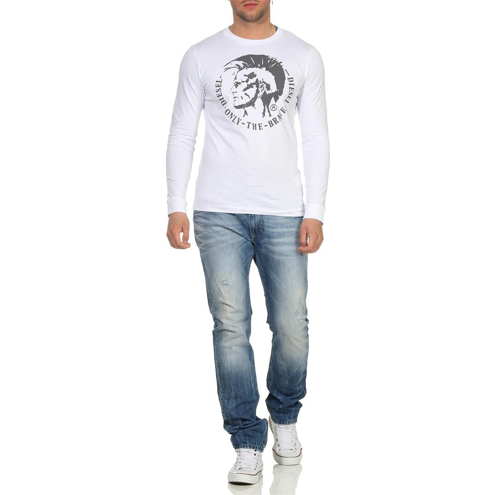 DIESEL-T-Diego-Long-B-R-Herren-Longsleeve-Mohawk-Tee-Langarm-Shirt Indexbild 6