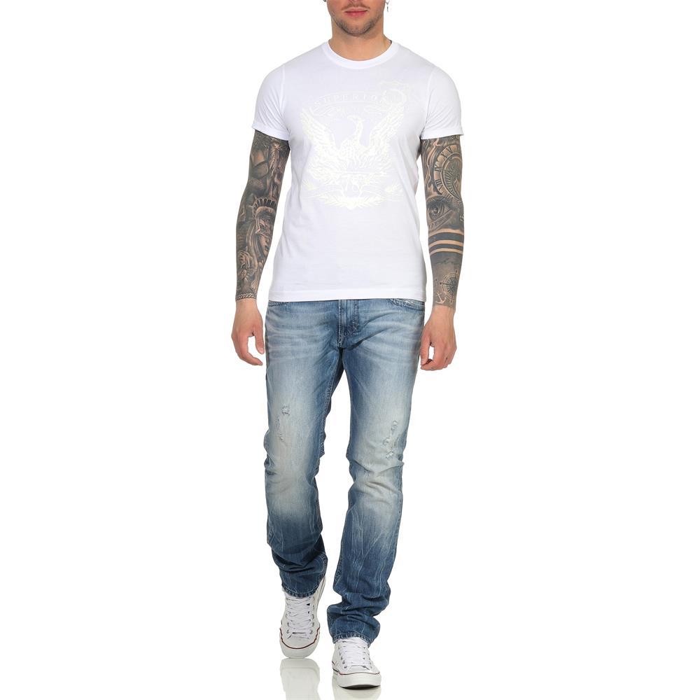 Indexbild 36 - DIESEL Herren T-Shirt Mohawk Slim Tee Rundhals Kurzarm Shirt