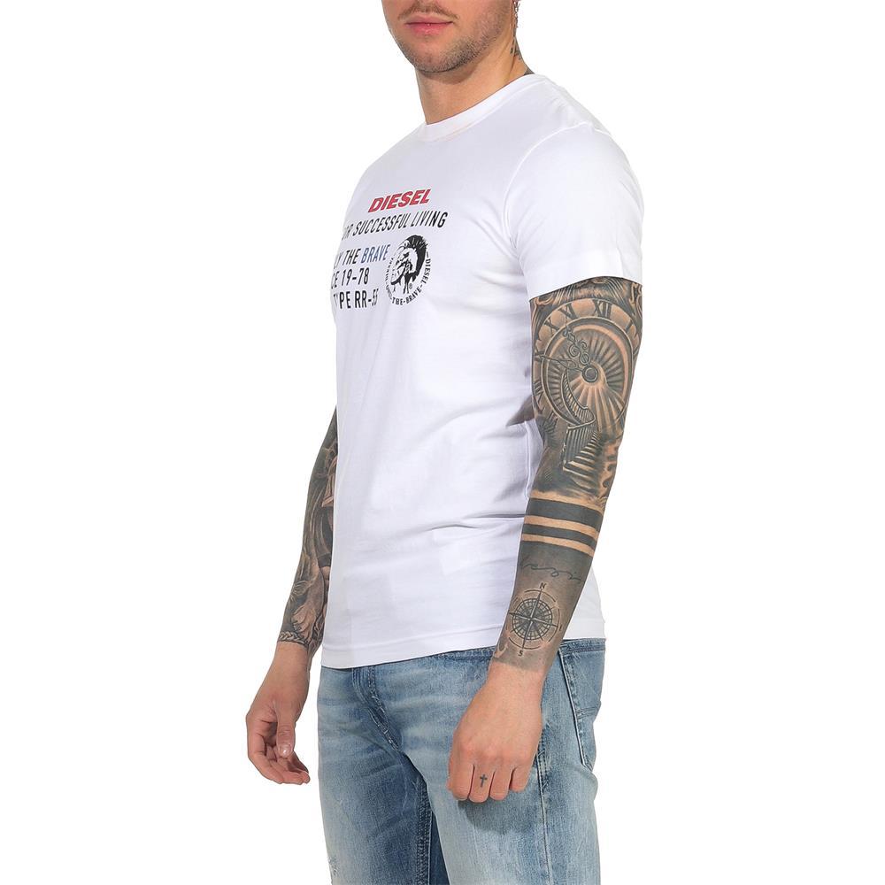 Indexbild 19 - DIESEL Herren T-Shirt Mohawk Slim Tee Rundhals Kurzarm Shirt