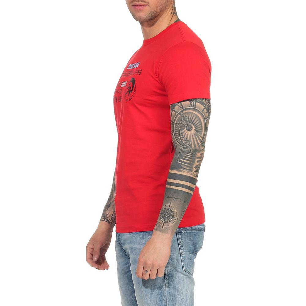 Indexbild 24 - DIESEL Herren T-Shirt Mohawk Slim Tee Rundhals Kurzarm Shirt
