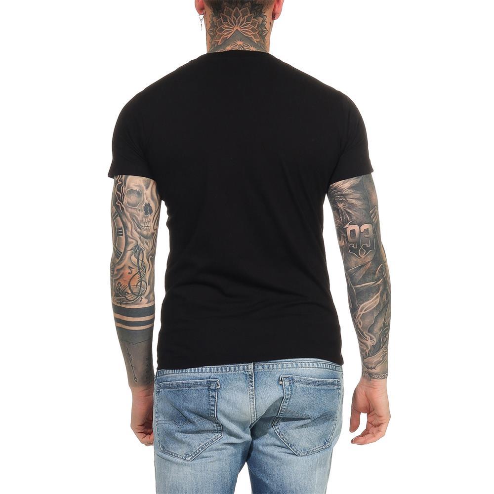 DIESEL-T-Head-PS-Herren-T-Shirt-Mohawk-Tee-Shirt-Kurzarm Indexbild 10