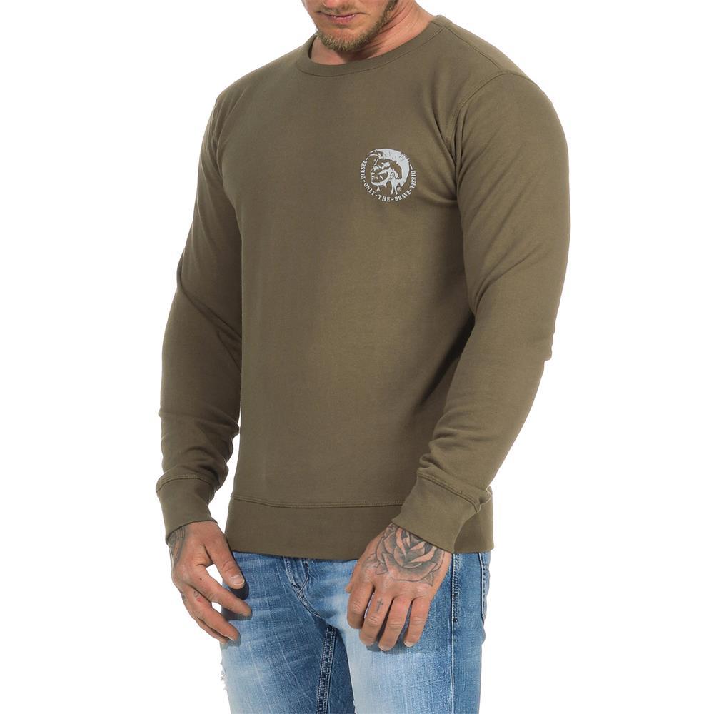DIESEL-Sweatshirt-Herren-Rundhals-Pullover-Crew-Neck-Sweater-Pulli Indexbild 15