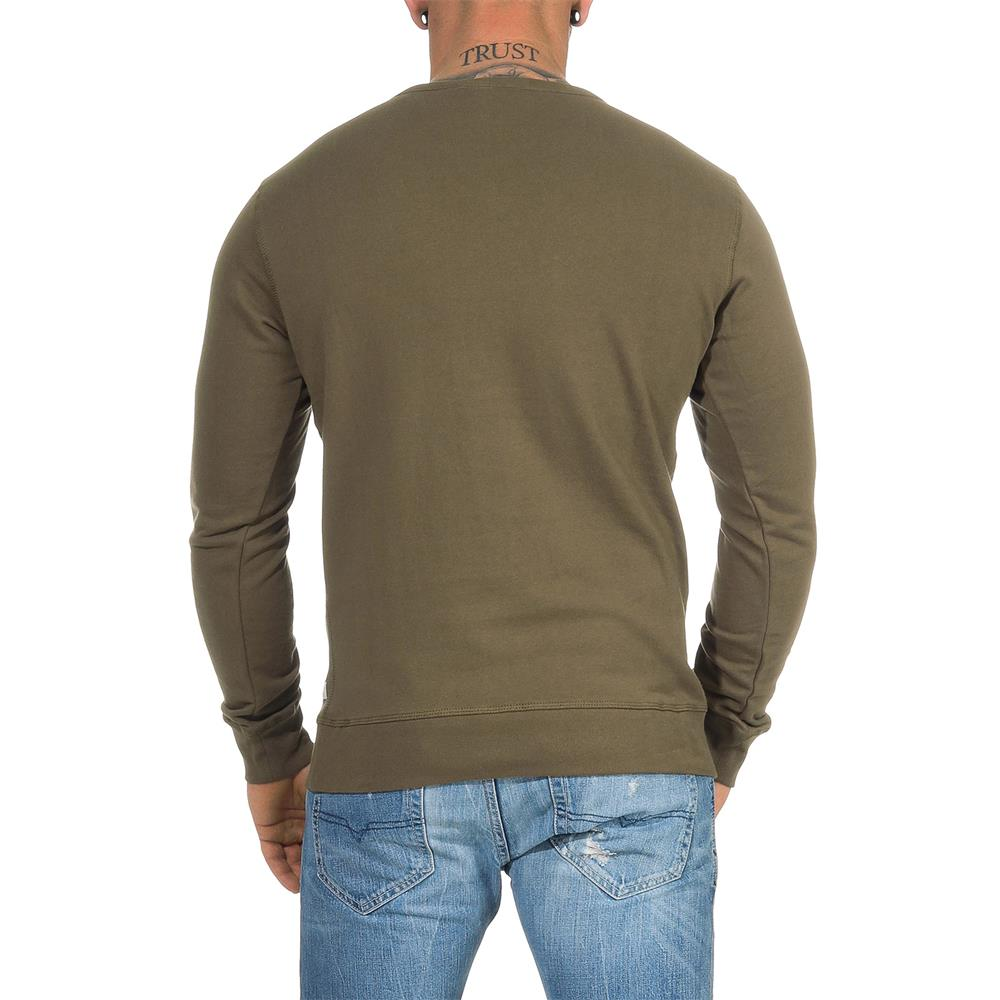 DIESEL-Sweatshirt-Herren-Rundhals-Pullover-Crew-Neck-Sweater-Pulli Indexbild 16