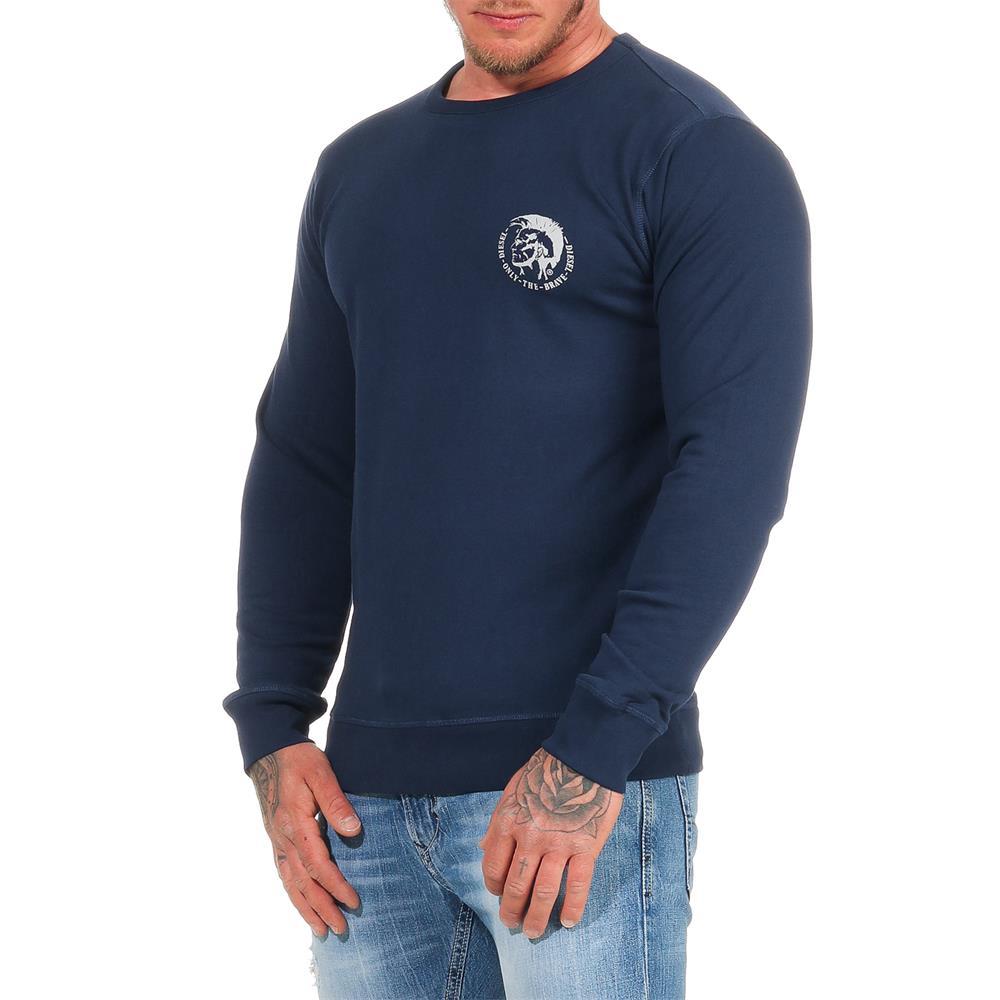 DIESEL-Sweatshirt-Herren-Rundhals-Pullover-Crew-Neck-Sweater-Pulli Indexbild 18