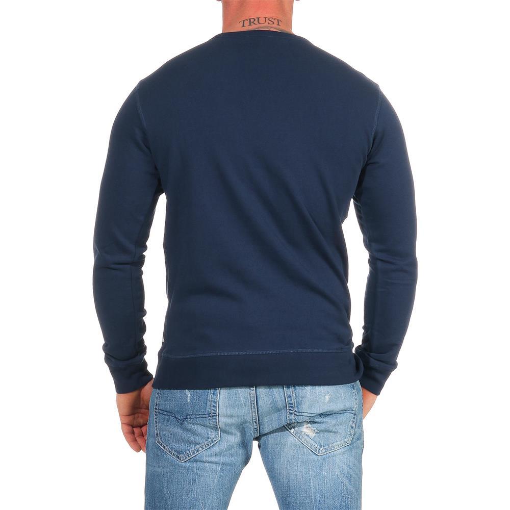 DIESEL-Sweatshirt-Herren-Rundhals-Pullover-Crew-Neck-Sweater-Pulli Indexbild 19
