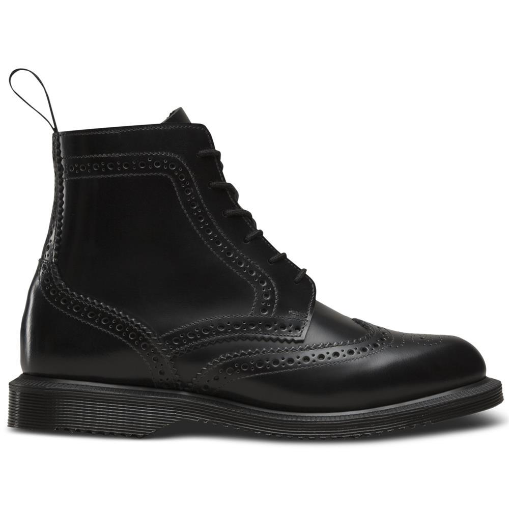 Dr-Martens-Delphine-Damen-Smooth-Leder-Boots-Doc-Martens-Docs-Stiefel-Stiefelet Indexbild 3