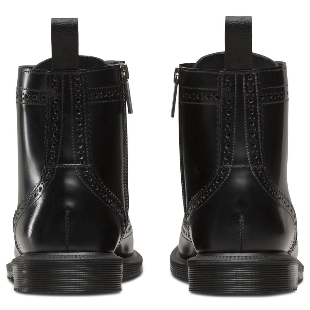 Dr-Martens-Delphine-Damen-Smooth-Leder-Boots-Doc-Martens-Docs-Stiefel-Stiefelet Indexbild 4