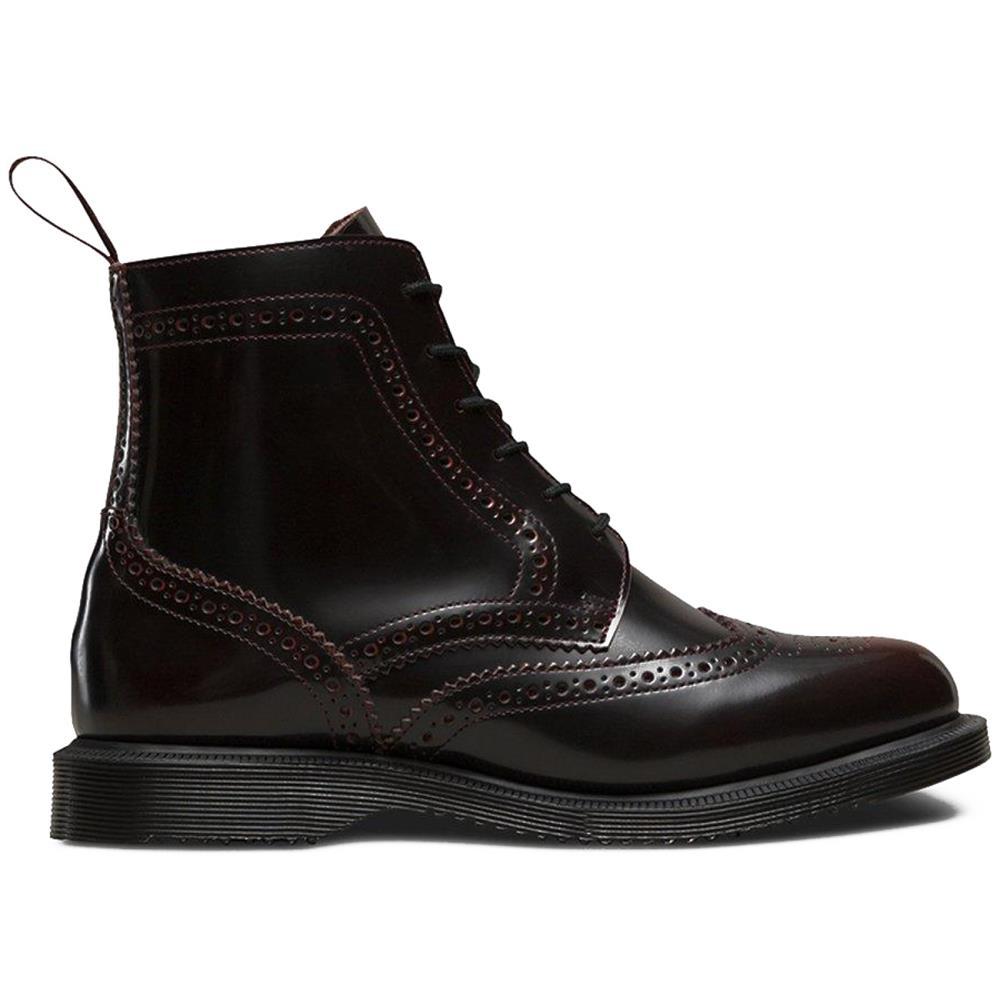 Dr-Martens-Delphine-Damen-Smooth-Leder-Boots-Doc-Martens-Docs-Stiefel-Stiefelet Indexbild 10