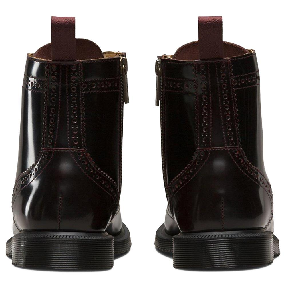 Dr-Martens-Delphine-Damen-Smooth-Leder-Boots-Doc-Martens-Docs-Stiefel-Stiefelet Indexbild 11