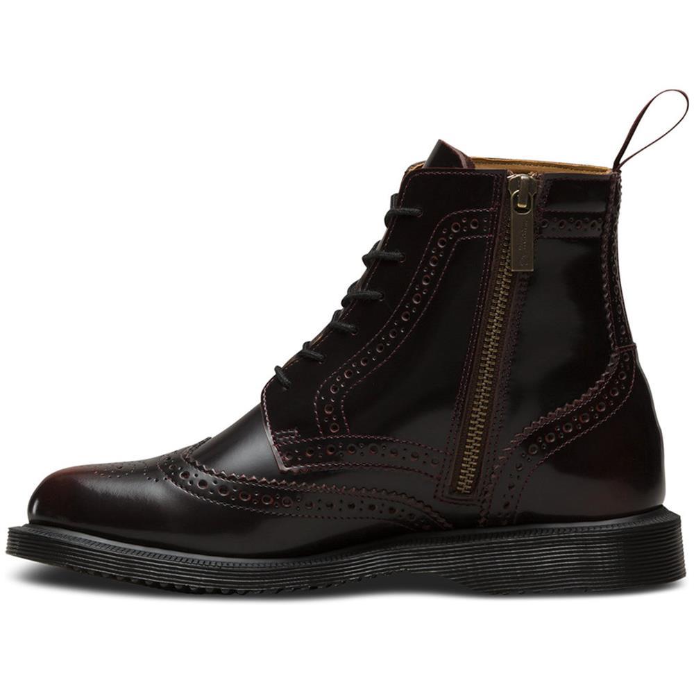 Dr-Martens-Delphine-Damen-Smooth-Leder-Boots-Doc-Martens-Docs-Stiefel-Stiefelet Indexbild 12