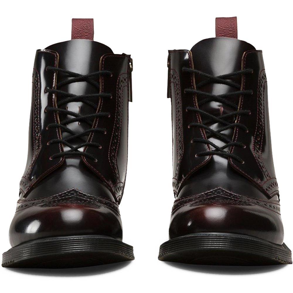 Dr-Martens-Delphine-Damen-Smooth-Leder-Boots-Doc-Martens-Docs-Stiefel-Stiefelet Indexbild 13