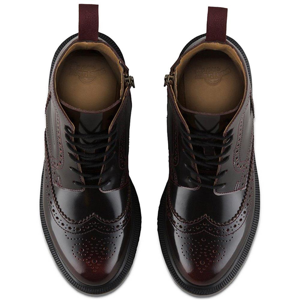 Dr-Martens-Delphine-Damen-Smooth-Leder-Boots-Doc-Martens-Docs-Stiefel-Stiefelet Indexbild 14