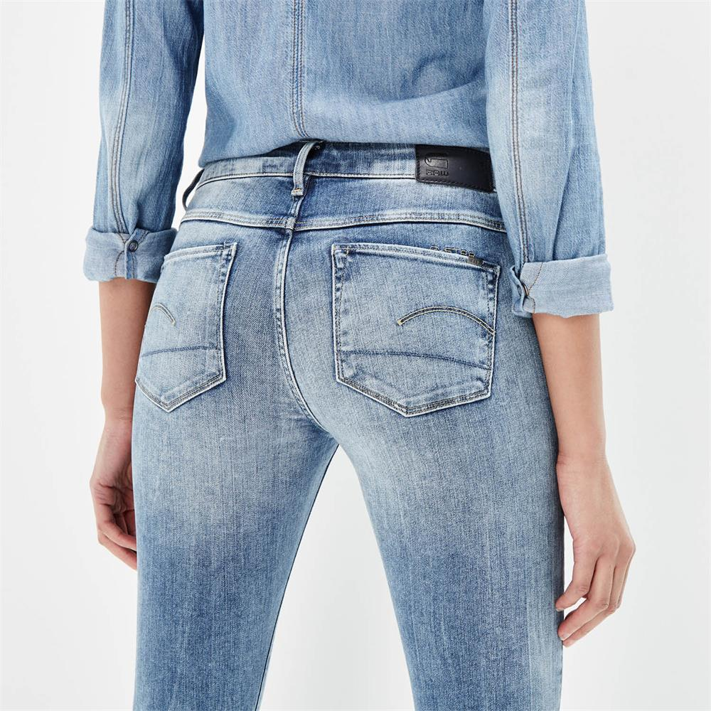 G-Star-3301-Contour-High-Waist-Skinny-Damen-Jeans-Hose-Jeanshose-Roehrenjeans Indexbild 4