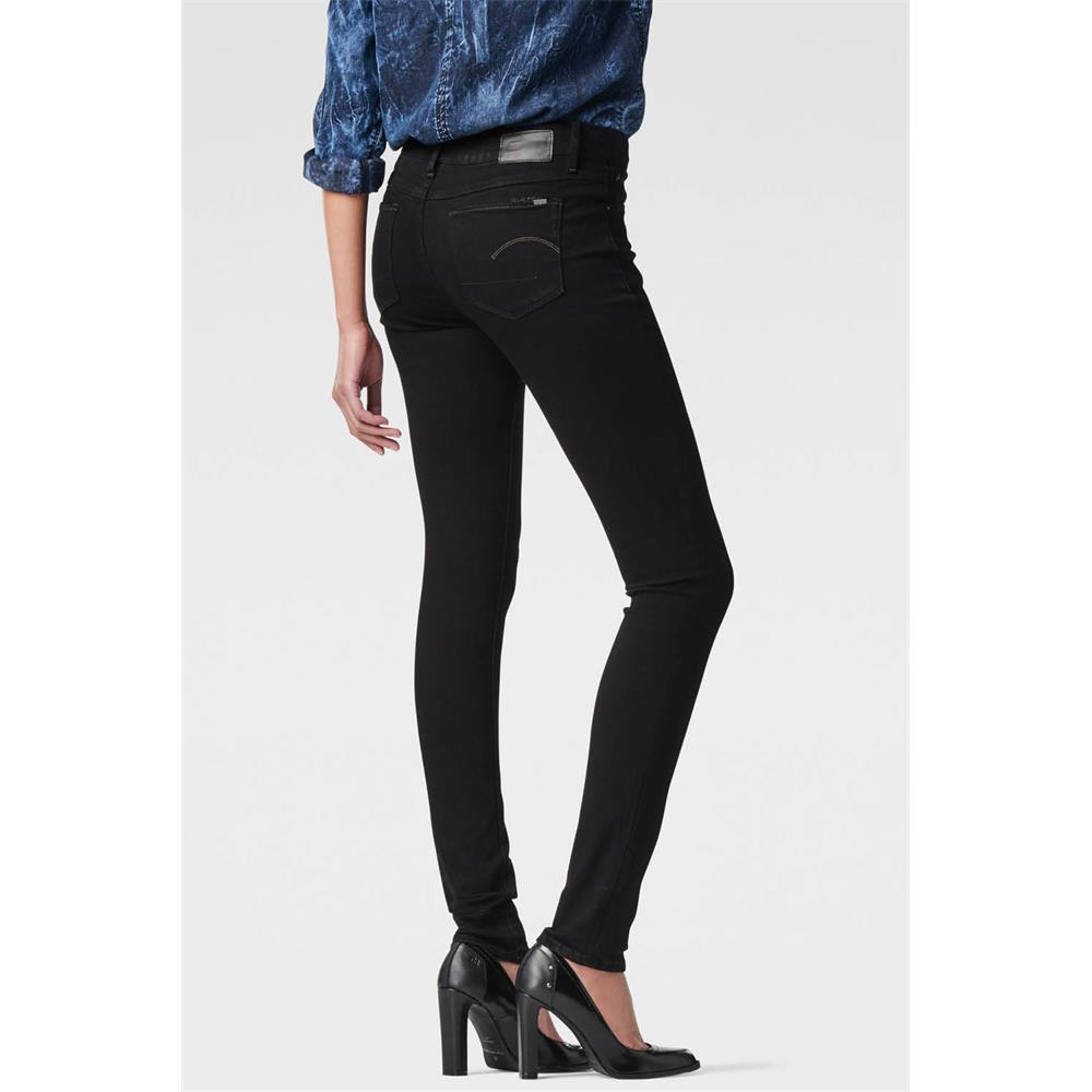 G-Star-3301-Contour-High-Waist-Skinny-Damen-Jeans-Hose-Jeanshose-Roehrenjeans Indexbild 6