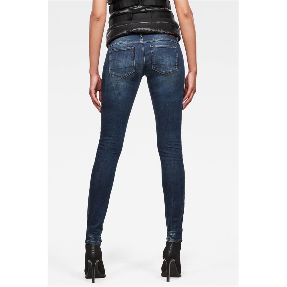 Indexbild 9 - G-Star 3301 Low Waist Super Skinny Damen Jeans Hose Jeanshose Röhrenjeans