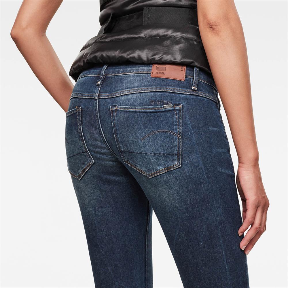 Indexbild 10 - G-Star 3301 Low Waist Super Skinny Damen Jeans Hose Jeanshose Röhrenjeans