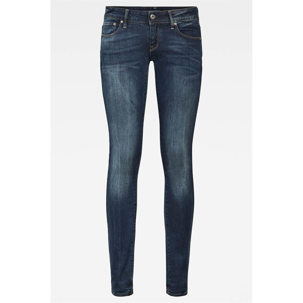 Indexbild 11 - G-Star 3301 Low Waist Super Skinny Damen Jeans Hose Jeanshose Röhrenjeans