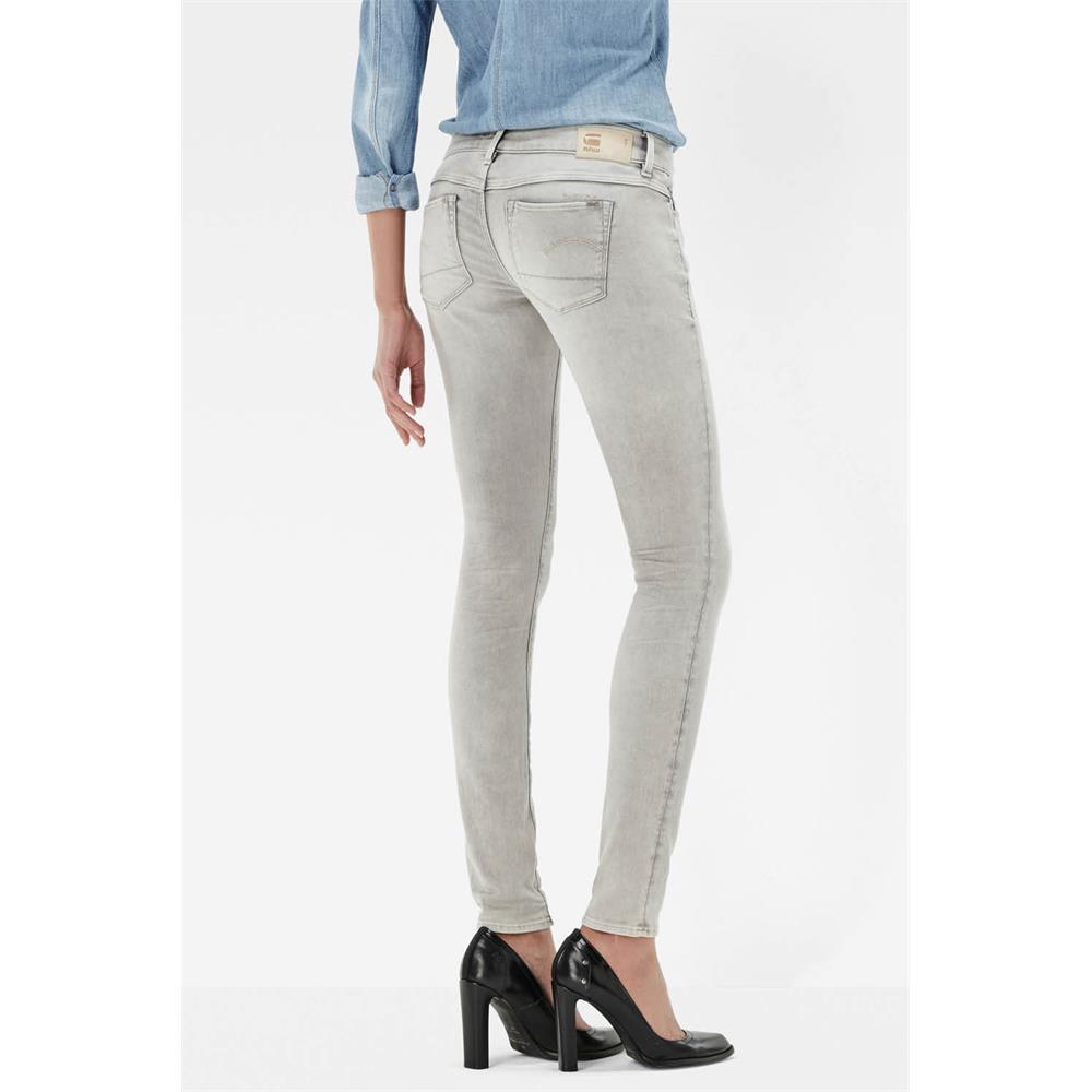 Indexbild 3 - G-Star 3301 Low Waist Super Skinny Damen Jeans Hose Jeanshose Röhrenjeans