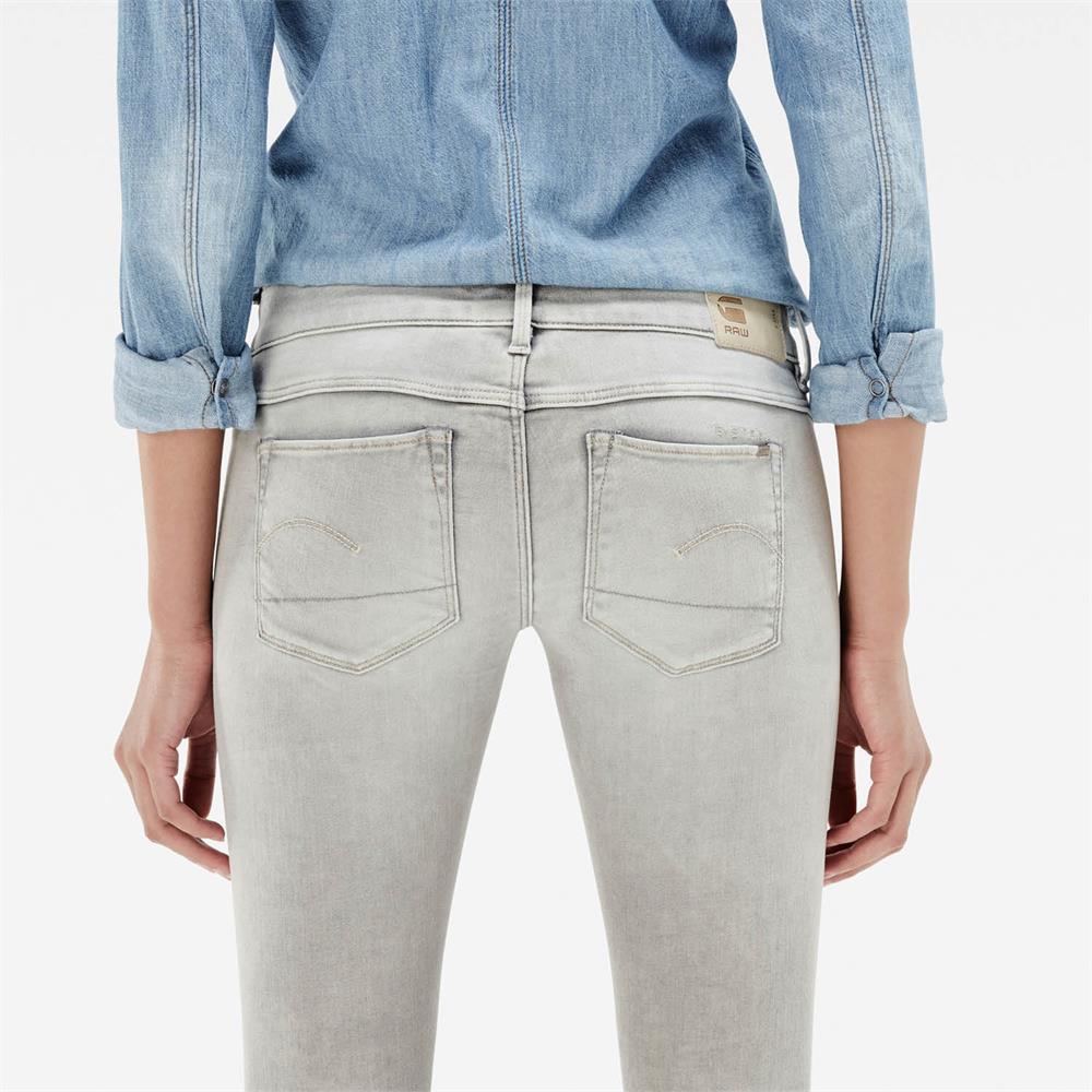 Indexbild 5 - G-Star 3301 Low Waist Super Skinny Damen Jeans Hose Jeanshose Röhrenjeans