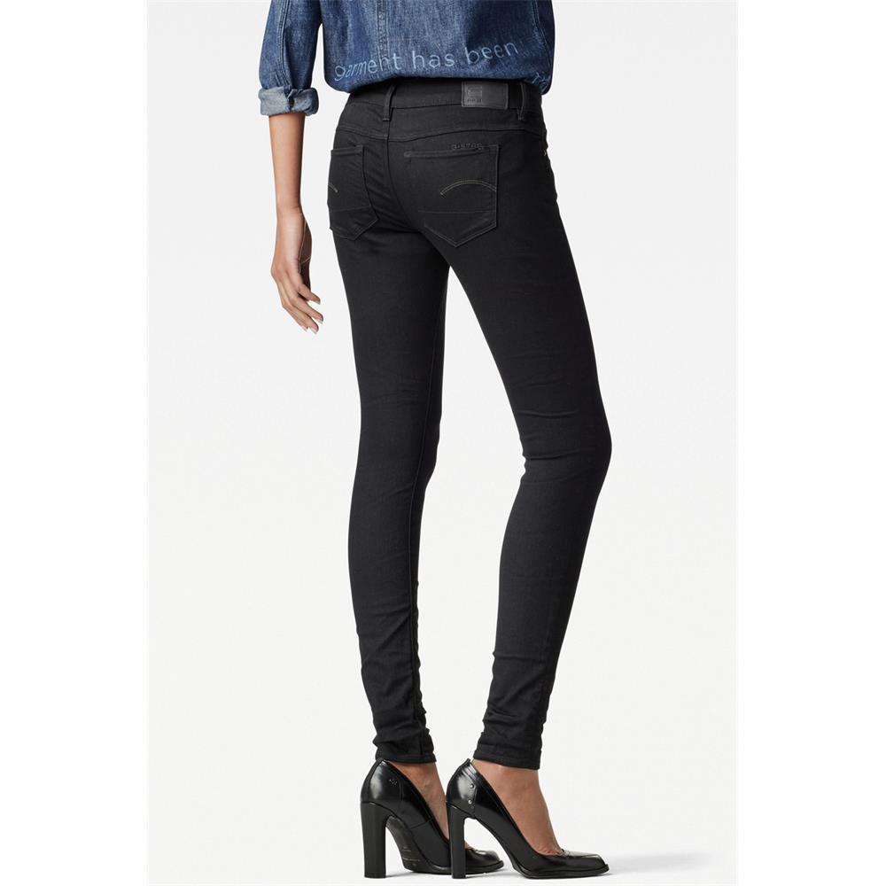Indexbild 17 - G-Star 3301 Low Waist Super Skinny Damen Jeans Hose Jeanshose Röhrenjeans