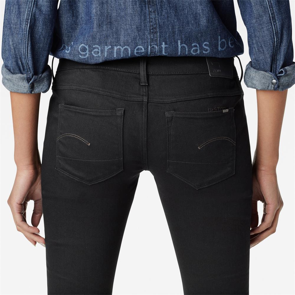 Indexbild 18 - G-Star 3301 Low Waist Super Skinny Damen Jeans Hose Jeanshose Röhrenjeans