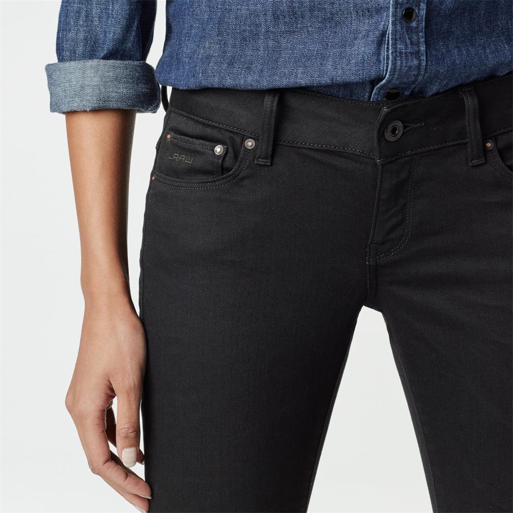 Indexbild 19 - G-Star 3301 Low Waist Super Skinny Damen Jeans Hose Jeanshose Röhrenjeans