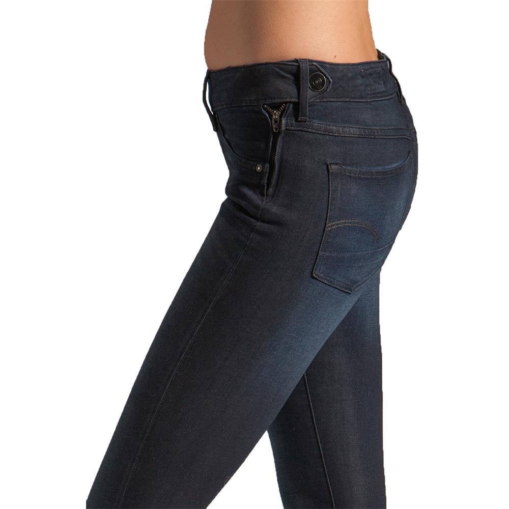 Indexbild 4 - G-Star 3301 Super Skinny Damen Jeans Hose Jeanshose Röhrenjeans
