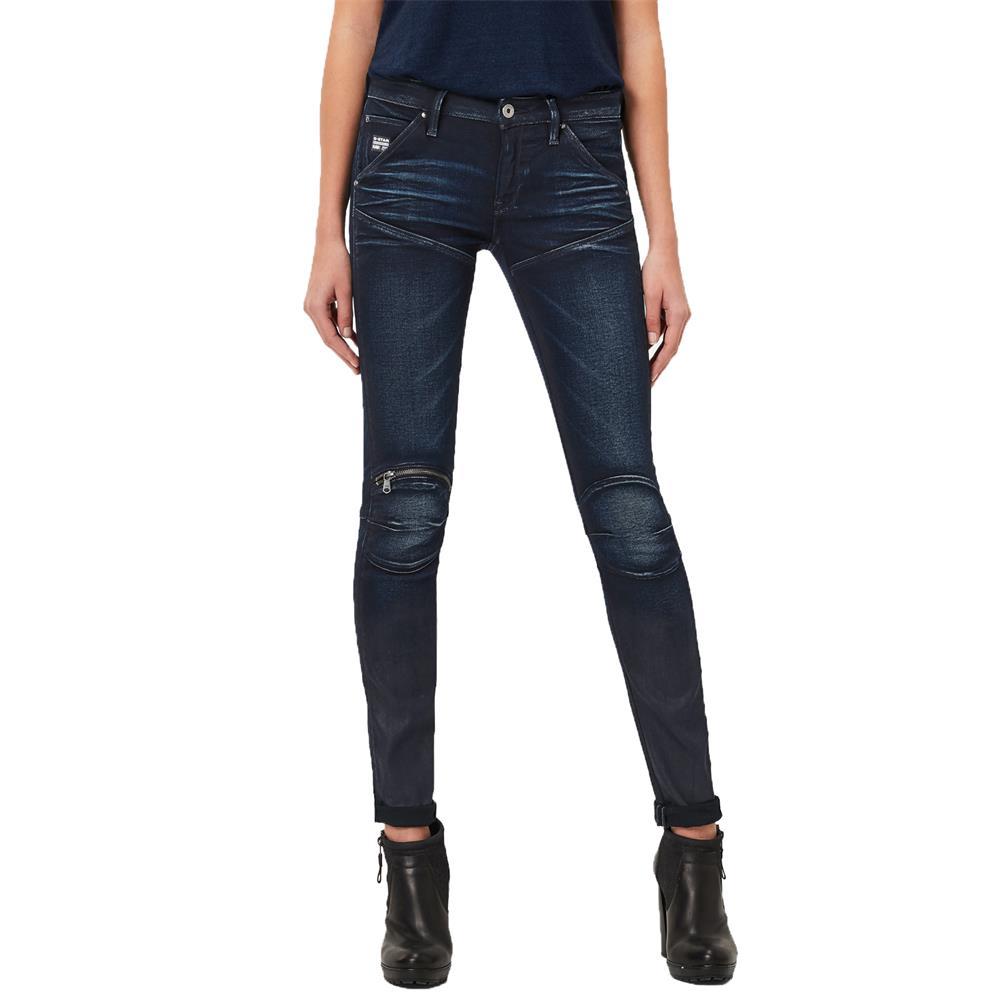 Indexbild 2 - G-Star 5620 Zip Mid Waist Skinny Damen Jeans Hose Jeanshose Röhrenjeans