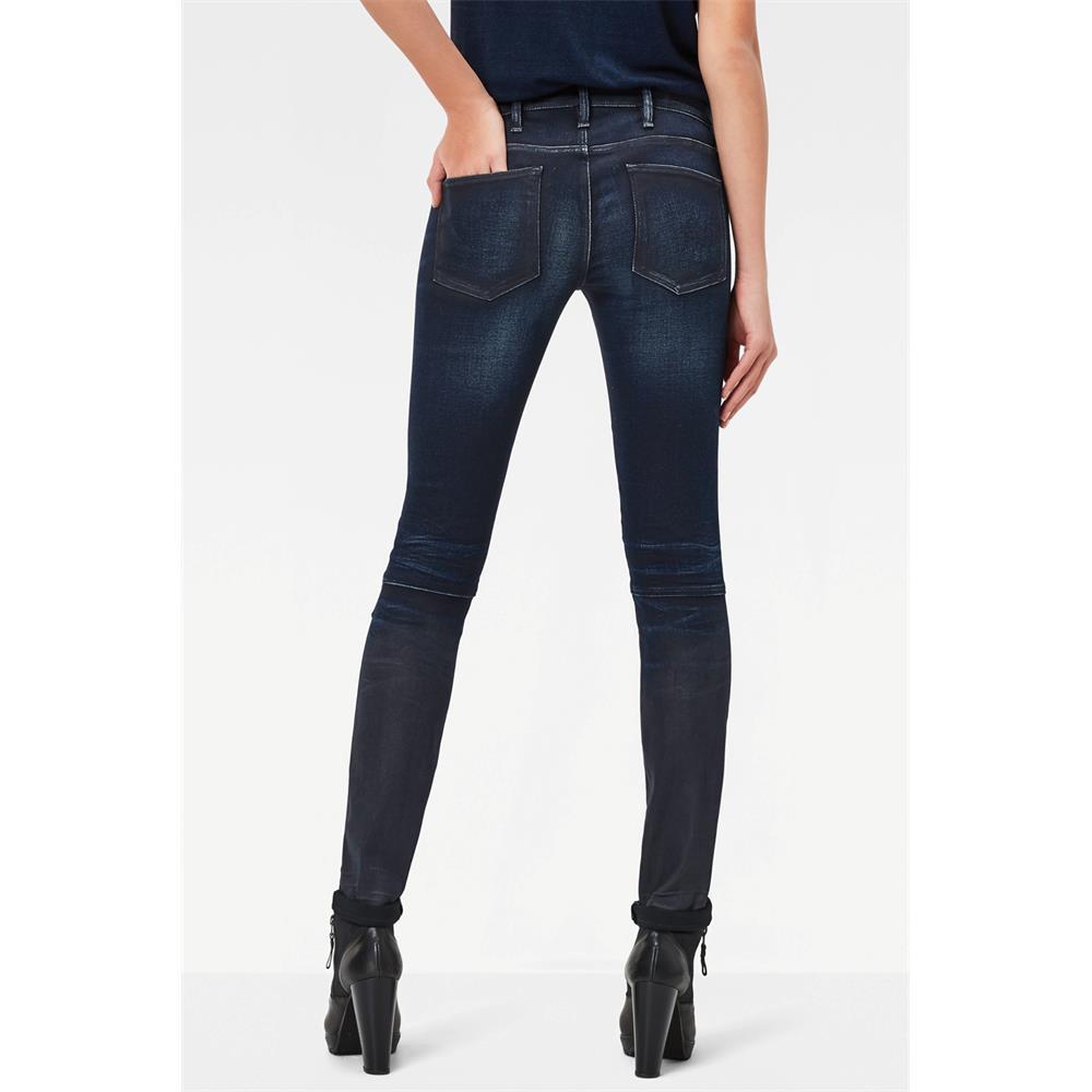 Indexbild 3 - G-Star 5620 Zip Mid Waist Skinny Damen Jeans Hose Jeanshose Röhrenjeans