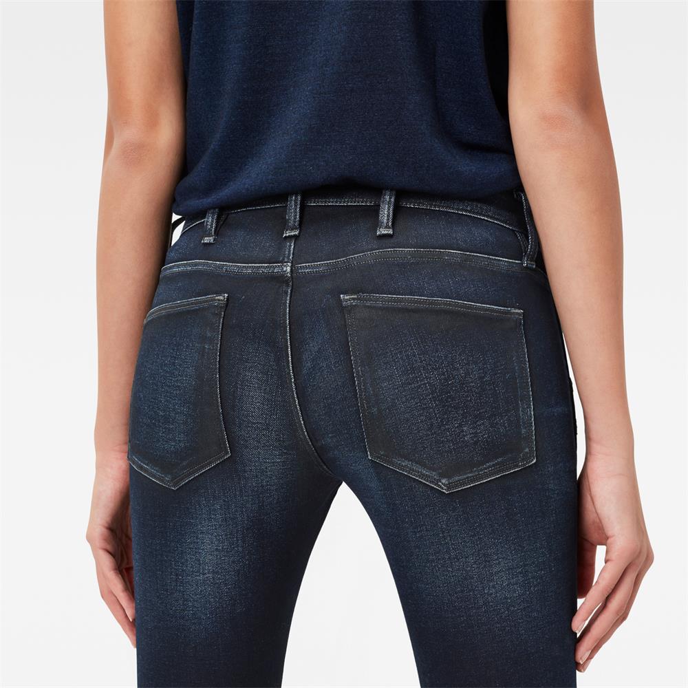 Indexbild 5 - G-Star 5620 Zip Mid Waist Skinny Damen Jeans Hose Jeanshose Röhrenjeans